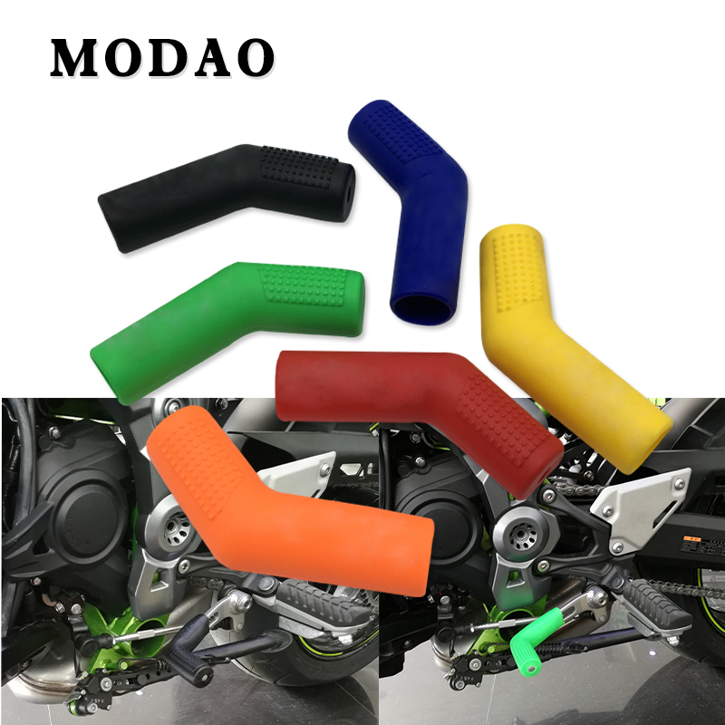 For YZF R125 R25 R3 MT-09 MT 07 Z800 YZF 600R Thundercat R1 R6 R25 R3 FZ1 FAZER FZS 1000s Motorcycle shift lever rubber cover