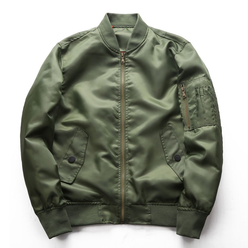 Pilot Jacket Air-Force Stand-Collar Coat Men Military Plus-Size Men's Fashion One Brand