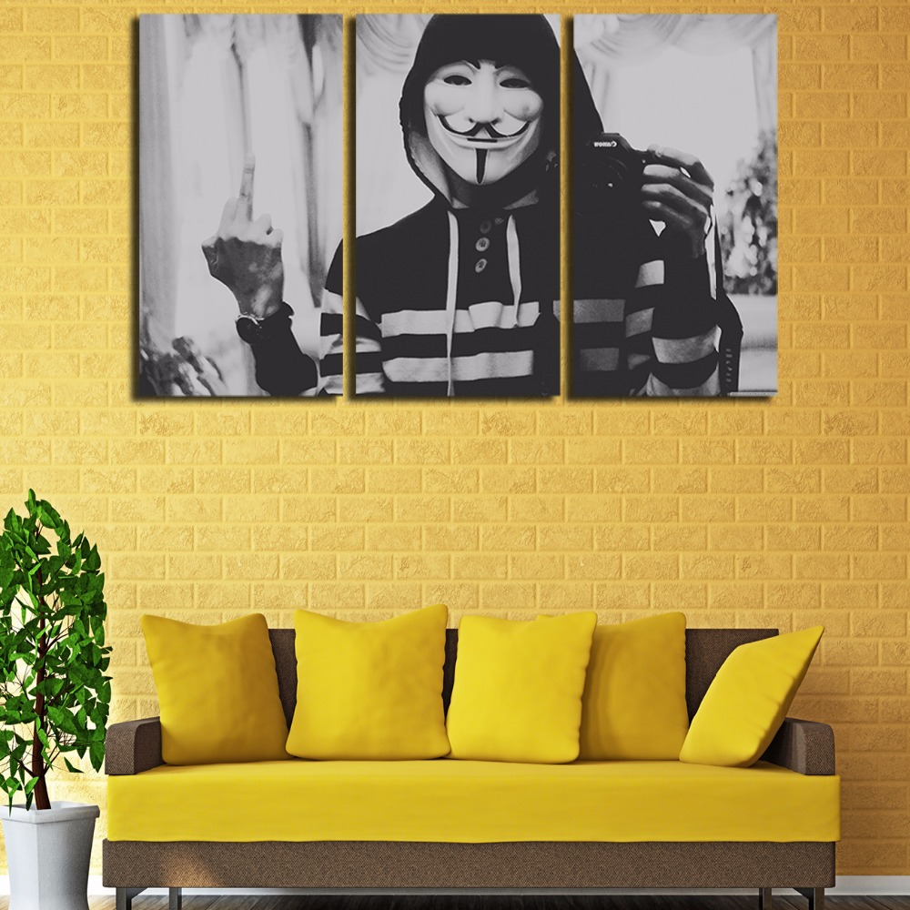 Wall Mask Decor Gallery - home design wall stickers