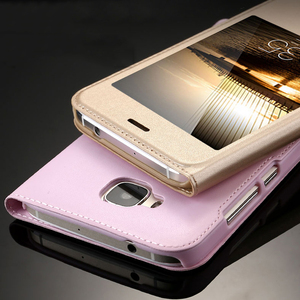 New Leather Case for Huawei G8