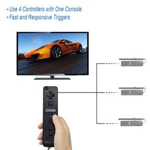 Image 5 - תנועה בתוספת אלחוטי מרחוק Gamepad בקר עבור Nintend Wii מרחוק Controle ג ויסטיק Joypad