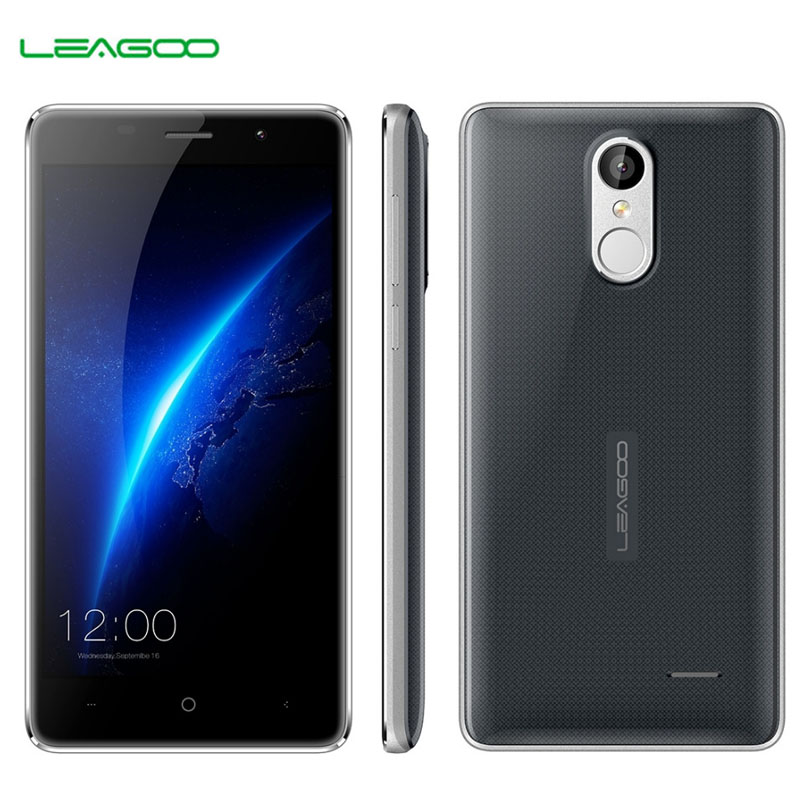 LEAGOO M5 16GB+2GB Network 3G Shock-proof Fingerprint Identification 5'' Freeme OS 6.0 MTK6580A Quad Core 1.3GHz Smartphone