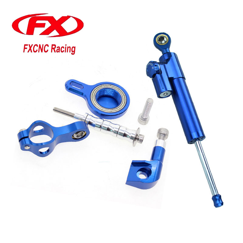 For Yamaha YZF R1 1998-2001 2000 Motorcycle Aluminum CNC Adjustable Steering Damper Stabilizer Mounting Bracket Support Kits universal cnc aluminum adjustable motorcycle steering damper for honda suzuki kawasaki triumph yamaha yzf r1 r6 zx6r zx636 z1000