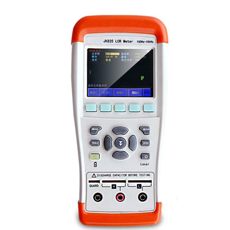Appareil de contrôle de capacité tenu dans la main du pont numérique JK825 de LCR équipement électronique de laboratoire d'appareil de contrôle de résistance de mètre d'inductance de haute précision