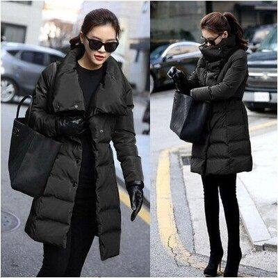 Winter Duck Down Jacket Women Elegant Winter Slim Medium-Long Thickening Coat Womens Winter Jackets Coats Outerwear Female H4472 2015 new thin style winter coat women slim white duck down parka long jacket women s outerwear elegant down jackets coat zj016