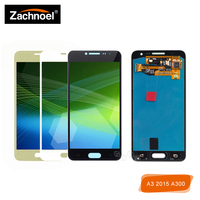 For Samsung Galaxy A3 2015 A300 A3000 A300F A300M LCD Display with Touch Screen Digitizer Assembly Can Adjust Brightness