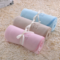 Extra Soft Beautiful Design Solid Color Polar Fleece Blanket Colorful Warm Popular Blanket Sleeping Baby Blanket