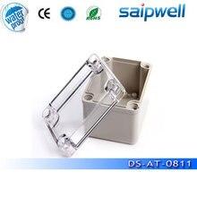 Hot Sale Plastic Box Electronics DS AT 0811 ABS waterproof Plastic Box 80 110 70mm Transparent