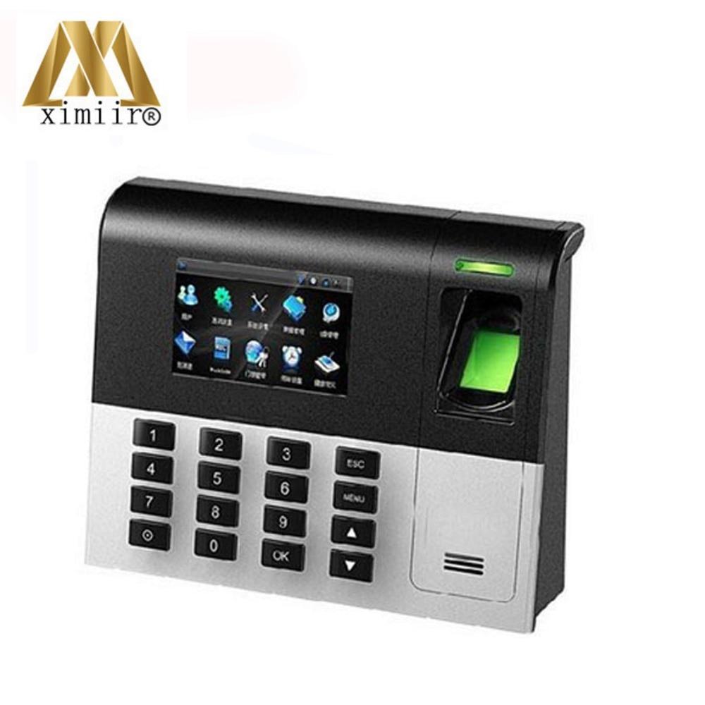 Linux System UA200 ZK Biometric Fingerprint Time Attendance TCP/IP Communication Employee Time Clock System Time Recording