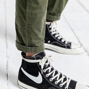 Image 4 - SIMWOOD nuevo 2019 pantalones casuales de moda para hombres Hip Hop Streetwear ropa de marca de algodón pantalones de tobillo pantalones masculinos 190056 para hombres