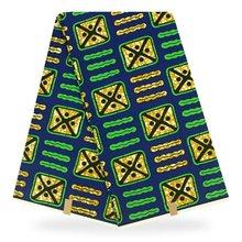 Latest Ankara Wax Print /African Fabric /Ankara /Kitenge/Pagnes For African Dress Nsubura YBGHL-151