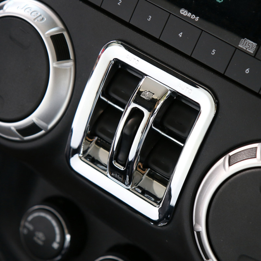 medium resolution of 1pcs new window switch button frame cover trim decoration sticker for jeep wrangler 2011 2016 car styling free shipping on aliexpress com alibaba group