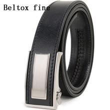 Mens Ratchet Belt Full Grain Leather Luxury Ceinture Automatic Buckle Belts For Men Fashion Waist New Designer Belts for Boys