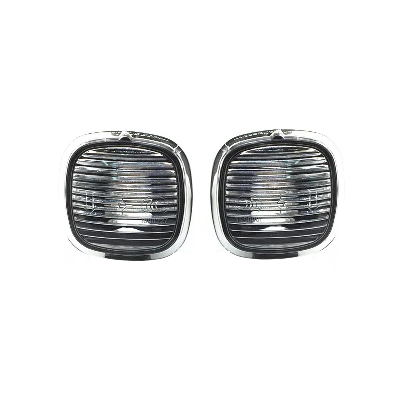 цена на JEAZEA New 2Pcs Side Marker Turn Signal Light Lamp For Skoda Fabia MK1 2000 2001 2002 2003 2004 2005 2006 2007 2008