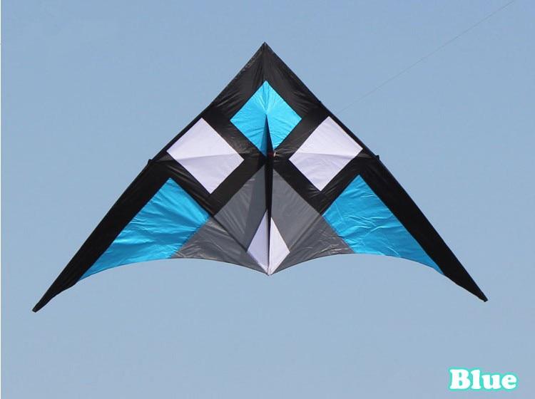 Livraison gratuite nouveaux jouets chauds 3 m qualité marchandises puissance Triangle cerf-volant avec poignée et chaîne bon vol - 4