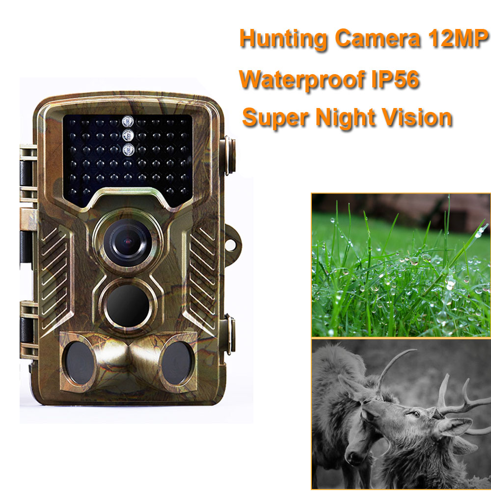 12MP Hunting Trail Camera Photo Trap Waterproof IP56 1080P Video Night Vision 940nm Infrared Scouting Game Hunter Cam цена