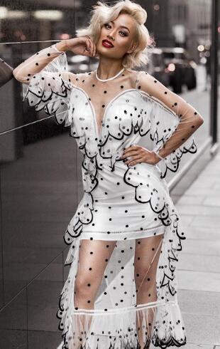 2018 Neue Ankünfte Sommer Frauen Kleid Großhandel Schwarz Cut Out Bandage Kleid Party Kleid Dropshipping Kleid + Anzug
