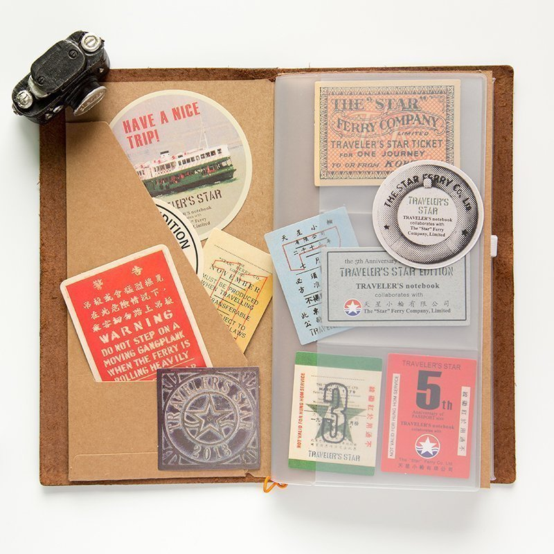 Vintage Airplane Stamps Paper Environmental Stickers Decorative DIY Travel Notebook Planner Sticker Post It Scrapbooking pulp and paper industry and environmental disaster