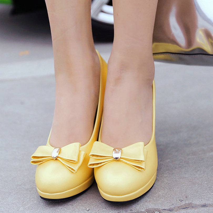 Yellow Summer Heels | Tsaa Heel