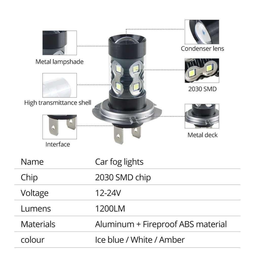 H7 светодиодные лампы H11 H8 H9 H1 Автомобильные светодиодные 1200LM 9005 HB3 9006 HB4 светодиодный фонарь Bombilla светодиодные фары 12 V H3 H10 Luces машине PSX24W 6000 k