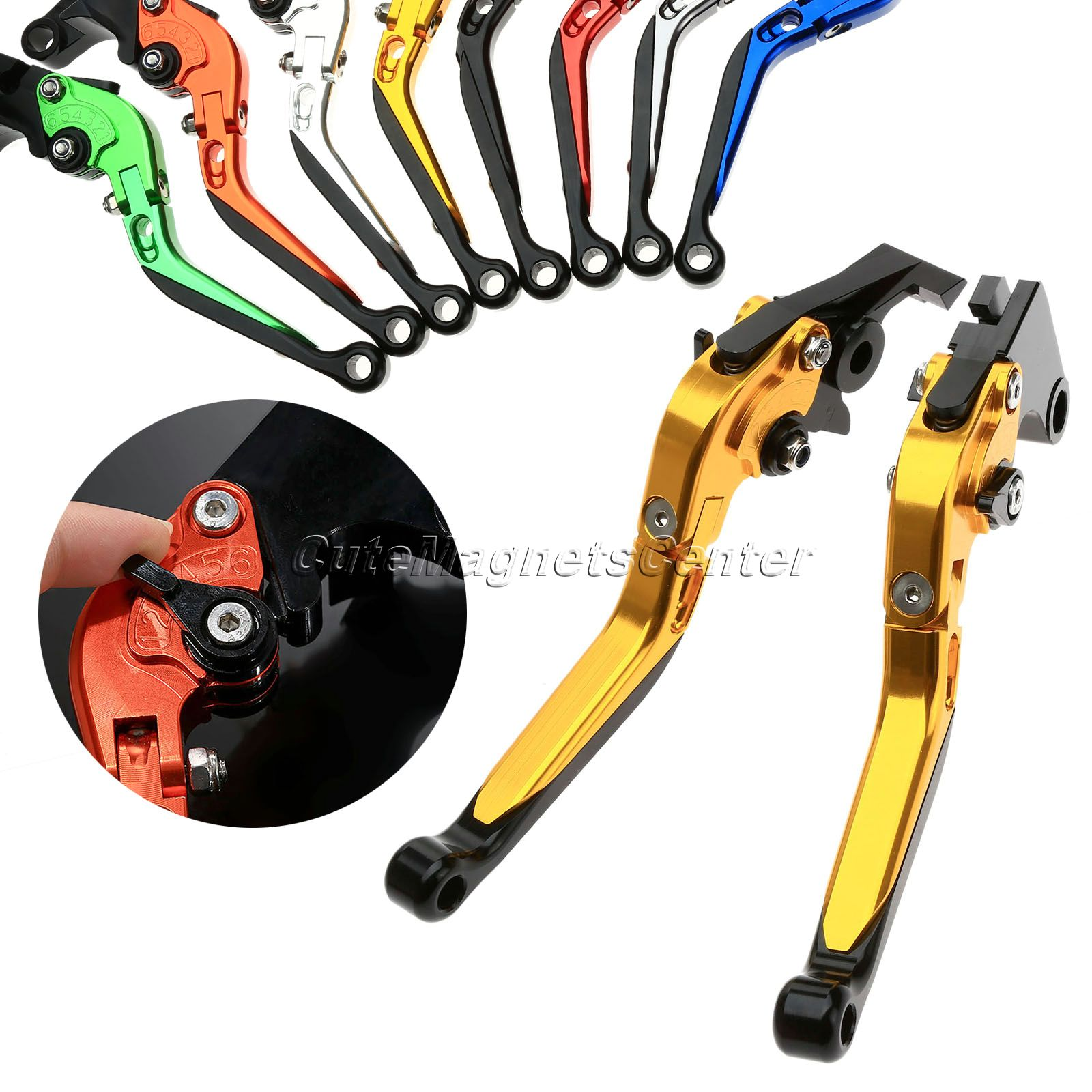 Mtsooning CNC Aluminum Foldable Extendable Adjustable Motorbike Brake Clutch Levers For Aprilia Pegaso 650 2006  цена и фото