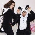 Kengurumi mujeres Panda Onesies para adultos dormir pijamas pijamas ropa de dormir de Franela pijamas Animal para wwomen de una pieza