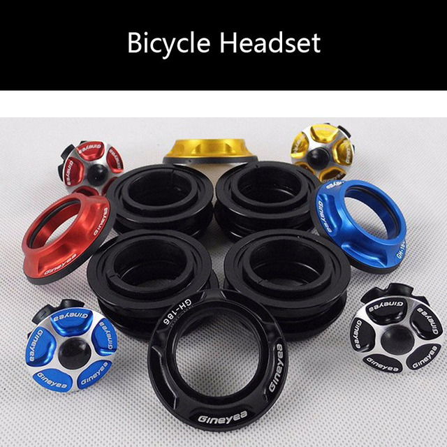 Mountainbike 44mm bearing headset external racing wheel set head set 130g