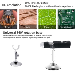 Image 4 - 2020 Newest 3 colors 1080P WIFI Digital 1000x Microscope Magnifier Camera for Android ios iPhone iPad