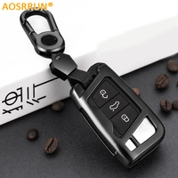 High Quality Car Key Wallet Protective Case Cover Zinc Alloy For Volkswagen VW Tiguan MK2 2017