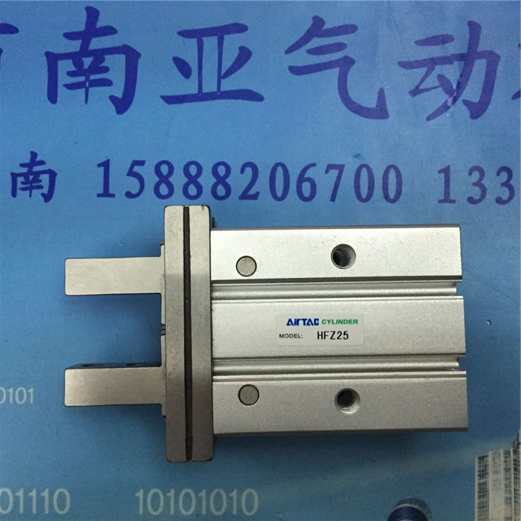 HFZ25 HFZ32  AIRTAC finger cylinder air cylinder pneumatic component air tools HFZ series su50 320 s su50 350 s airtac thin three axis cylinder with rod air cylinder pneumatic component air tools