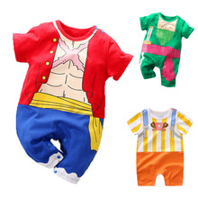 YiErYing High Quality Baby Clothing Cartoon rompers One Piece Style Short Sleeve Jumpsuits Cosplay Clothes
