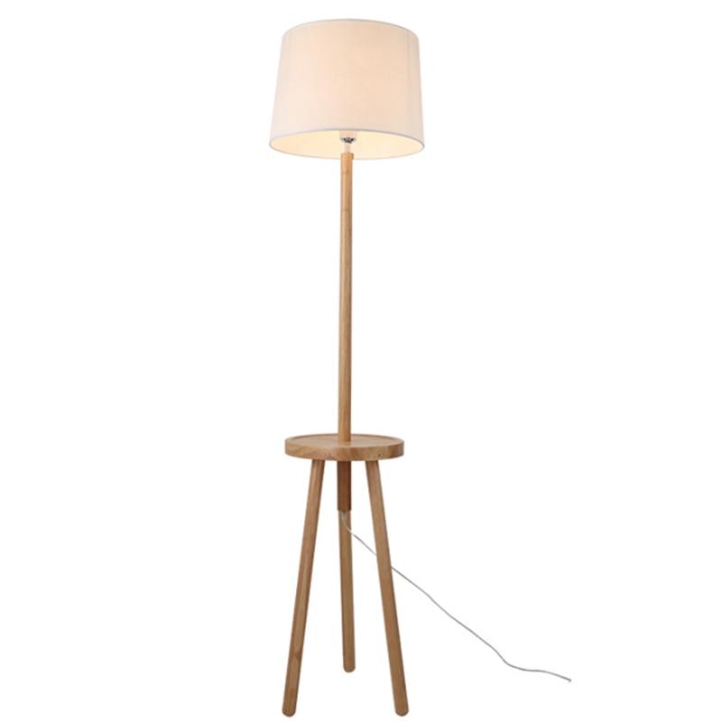 index floor lamp reclaimed praba wood medium
