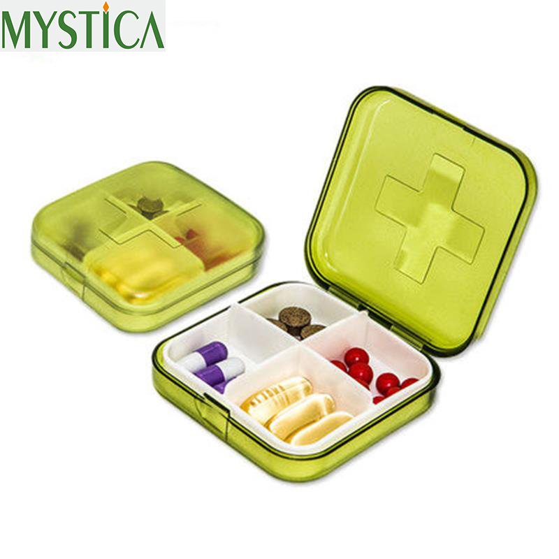2018 NEW 1PCS 7 Day Outdoor Travel Pill Case Pill Organizer Cute