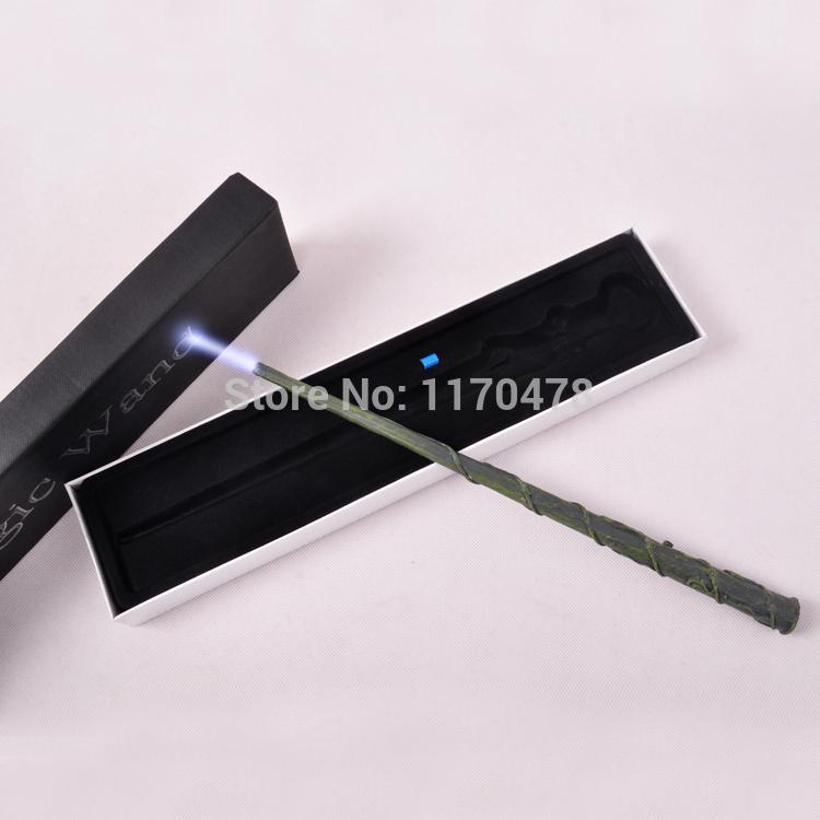 deluxe cos hogwarts harry potter hermione granger 39 s led illuminating tip magic wand stick gift. Black Bedroom Furniture Sets. Home Design Ideas
