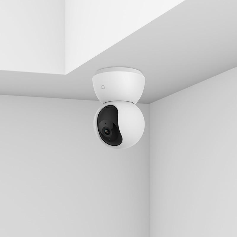 Version anglaise Xiaomi Mijia caméscope intelligent 1080P WiFi caméra panoramique inclinable Webcam de nuit 360 Angle moteur muet sans fil-in Caméscopes grand public from Electronique    2