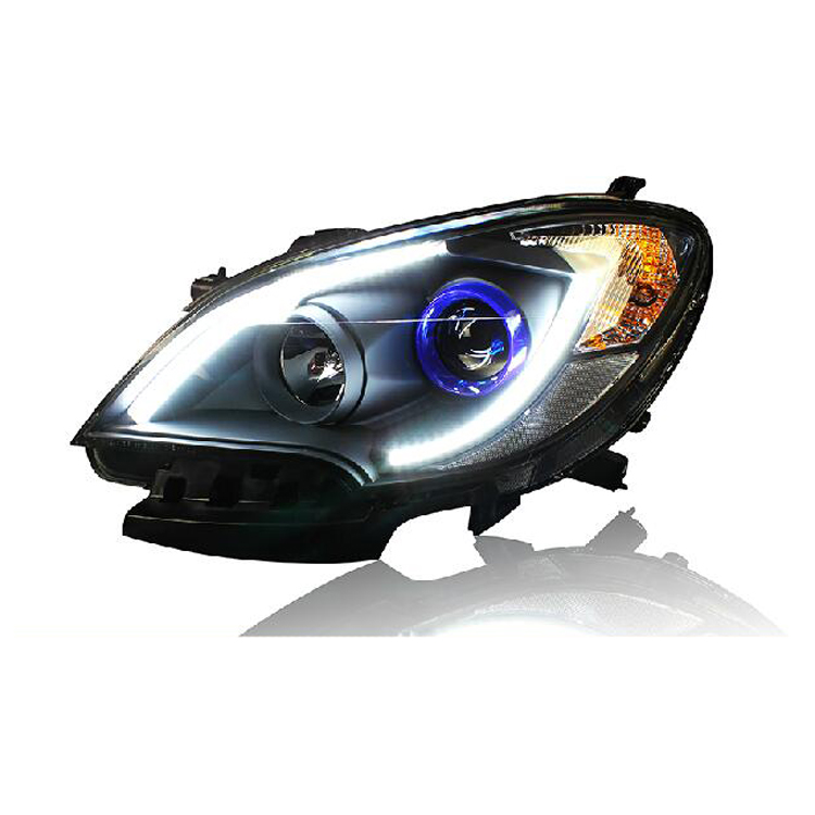 Ownsun New Eagle Eyes LED DRL Bi-xenon Projector Lens Headlights For Buick Encore 2013 ownsun new eagle eyes led drl bi xenon projector lens headlights for chevrolet cruze 2009 2014