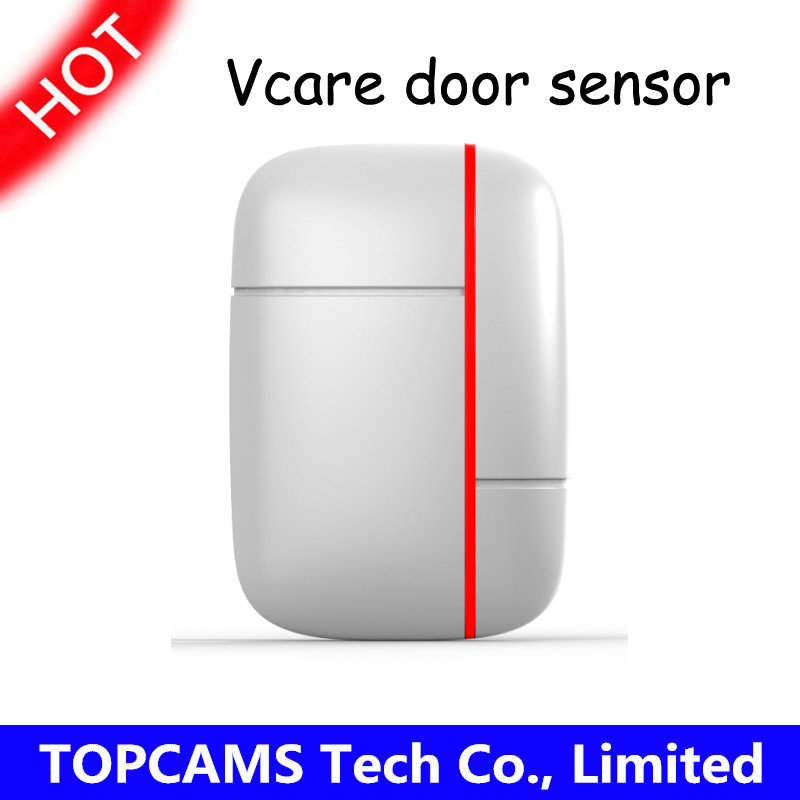 433mhz vcare Door/window magnetic sensor for GSM\u0026WIFI home security alarm systems Door/window close/opened alert