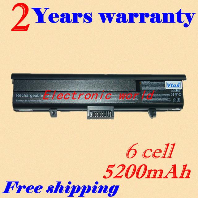 Jigu 2 años de garantía! nueva batería del ordenador portátil para dell xps m1330 1330 para inspiron 1318 13 312-0566 PU556 PU563 TT485 312-0567 PU556