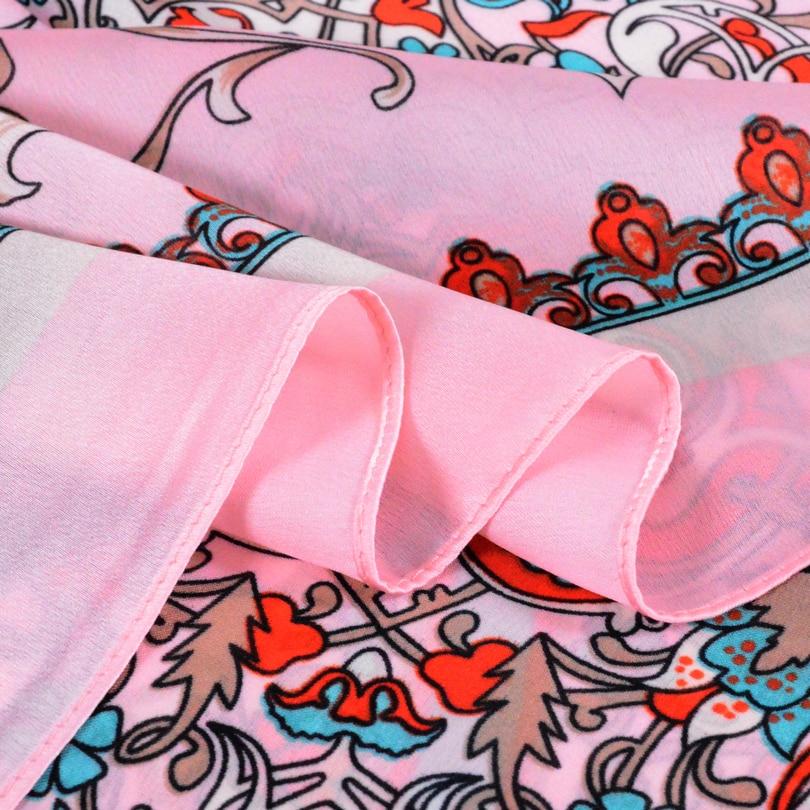 [BYSIFA] Classial Floral Frauen Seidenschal Schal New Brand Ladies - Bekleidungszubehör - Foto 6