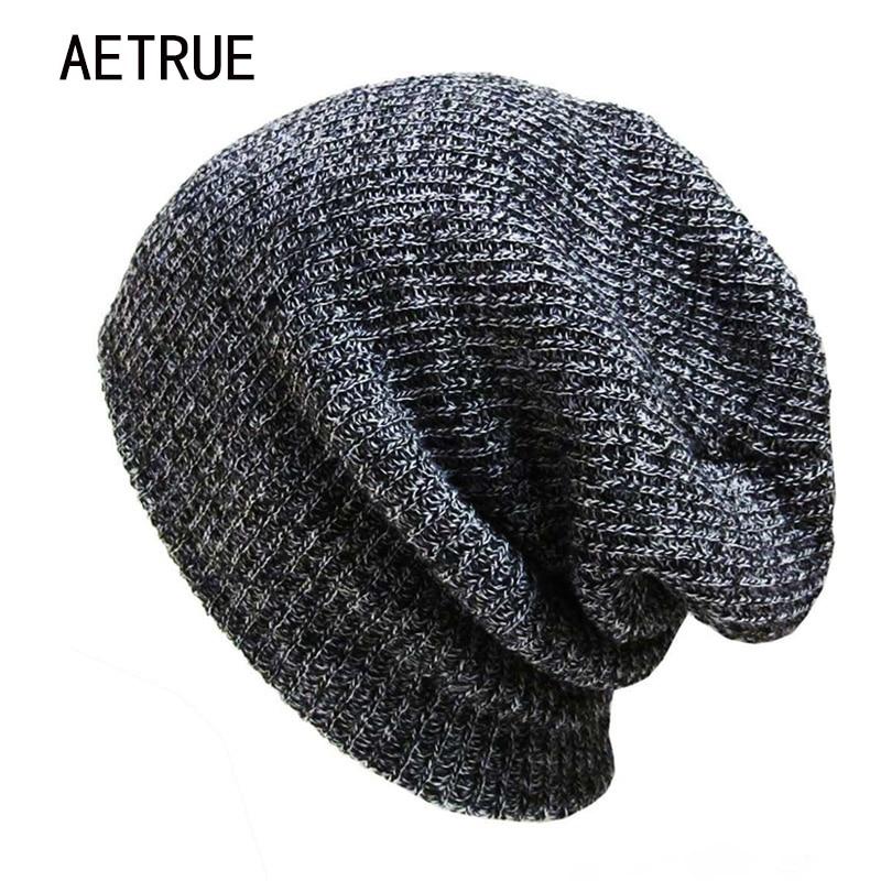 Brand Bonnet Beanish տրիկոտաժե ձմեռային գլխարկով գլխարկներ Skullies Ձմեռային գլխարկներ կանանց համար Beanie Warm Baggy Cap Բուրդ Gorros Touca Hat 2018