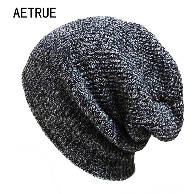 Brand Bonnet Beanies Knitted Winter Hat Caps Skullies Winter Hats For Women  Men Beanie Warm Baggy 76950c9e963