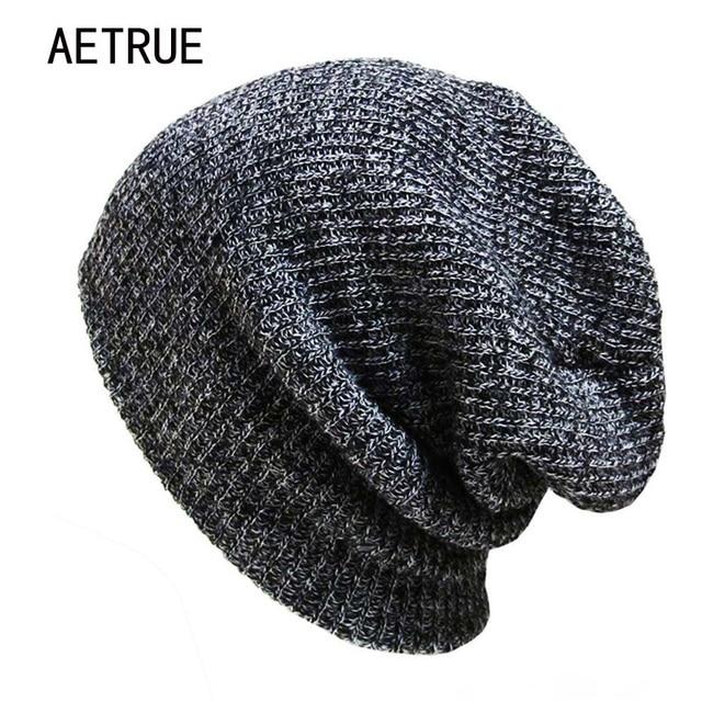 Marca Bonnet gorros gorras skullies invierno sombreros para las mujeres  hombres Beanie warm baggy Cap lana b96853b17de