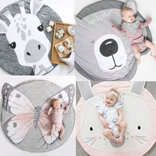 18 스타일 동물 인쇄 어린이 크롤 링 매트 장난감 게임 매트 크롤링 카펫 바닥 깔개 아기 침구 담요 룸 장식