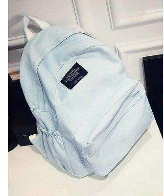 Women Canvas Shoulder School Bag Backpack Girl Travel Satchel Rucksack cute fashion women s canvas travel satchel shoulder bag backpack school rucksack560024