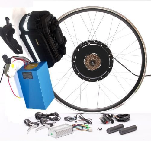 Electric Bicycle Motor Kit With Battery In India: 48V 20AH Lifepo4 Battery With 48v 500w Electric Bike