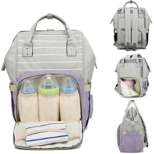 Image 4 - VRTREND New Baby Diaper Bag Waterproof Mummy Maternity Nappy Bag Large Capacity Baby Bag Travel Backpack Designer Nursing Bag