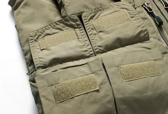 Fishing Vests Quick Dry Breathable Multi Pocket Mesh Vest Sleeveless Jackets Unloading Photography Hiking Vest Fish Vest,GA283 10
