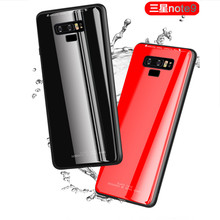 For Samsung Galaxy Note 8 9 Shockproof Tempered Glass Full Protective Cover For S8 S9 Plus Case A6 A8 J3 J7 J8 J4 J6 2018 EU for samsung galaxy note 9 8 a7 shockproof cover business cases for samsung s9 s8 a6 a8 plus j2 j3 j4 j6 j7 j8 soft silicone case