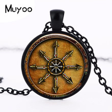1 star unids chaos magick or chaos crystal necklace jewelry Cabochon HZ1(China)
