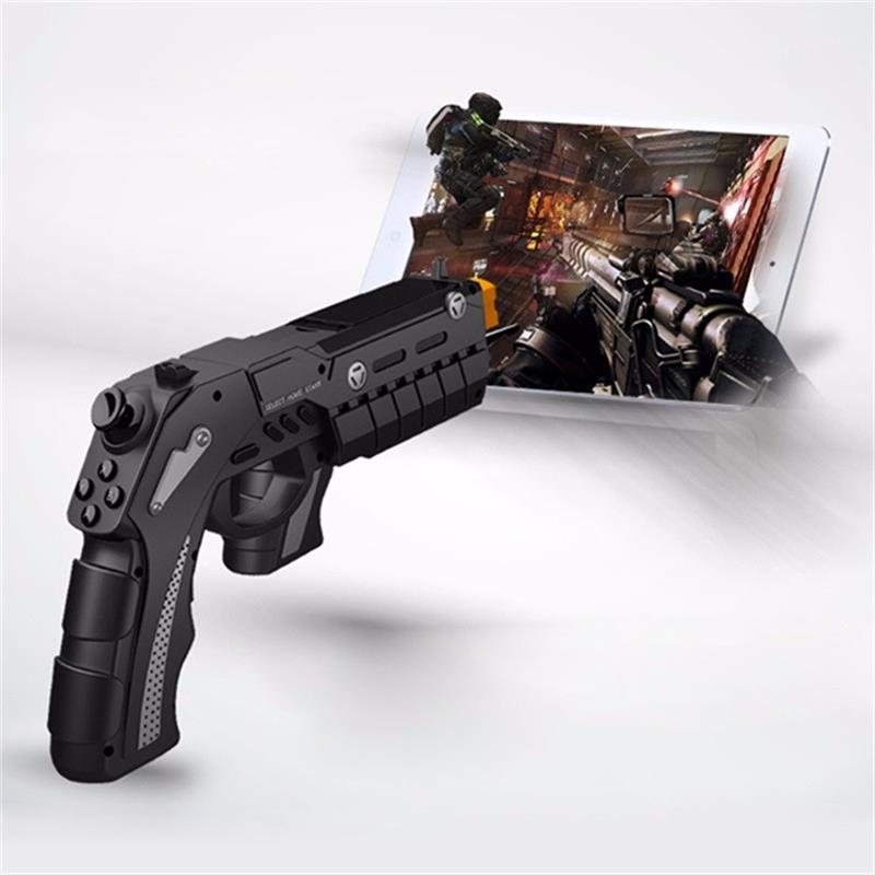 ФОТО VR IPEGA 9057 PG-9057 Gun Style Wireless Bluetooth Game Controller joysticker Gamepad Handset for Cellphone Tablet TV Box